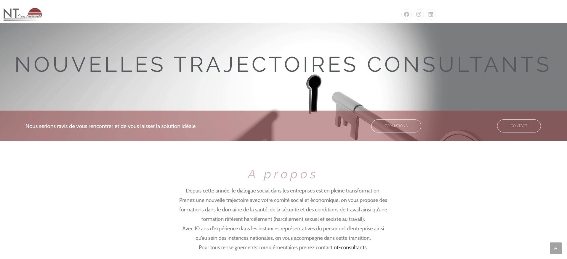 - Nouvelles Trajectoires Consultants - Formations - CSE - Référent